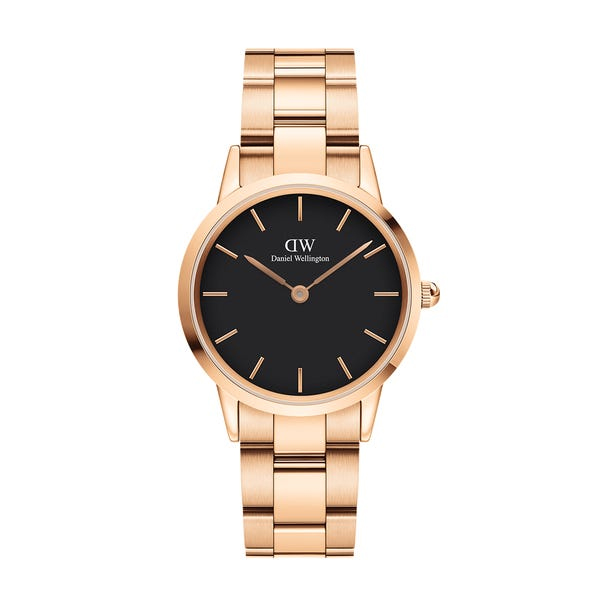Iconic Link 32mm Black Dial (DW00100212)