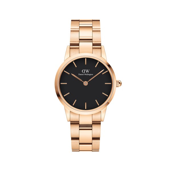 Iconic Link 28mm Black Dial (DW00100214)