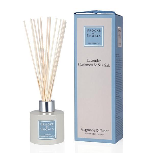 Fragrance Diffuser - Lavender, Cyclamen and Sea Salt