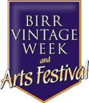 Birr vintage week and arts festival logo