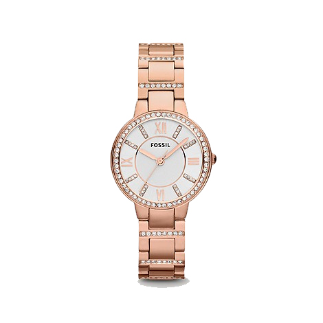 Virginia Rose-Tone Stainless Steel Watch (ES3284)