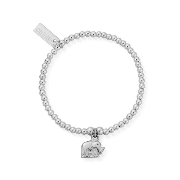 Children's Cute Charm Elephant Bracelet (ESBCC405)