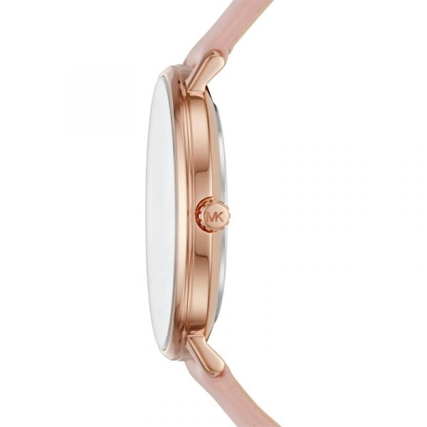 Pyper Pink Leather Quartz Watch (MK2741)