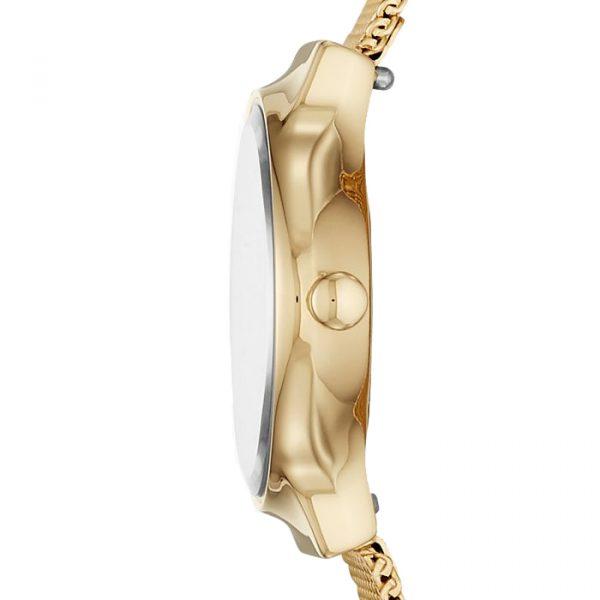 Freja Gold-Tone Steel-Mesh Watch (SKW2717)