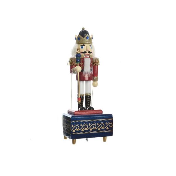 Firwood Music Box with Glitter - Blue (550344B)