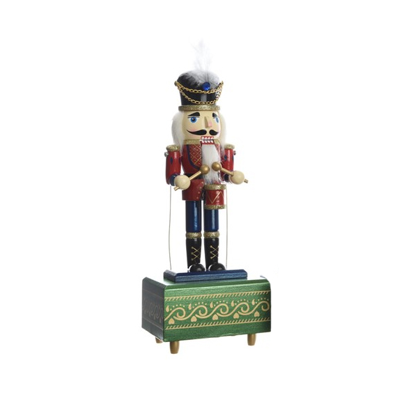 Firwood Music Box with Glitter - Green (550344G)