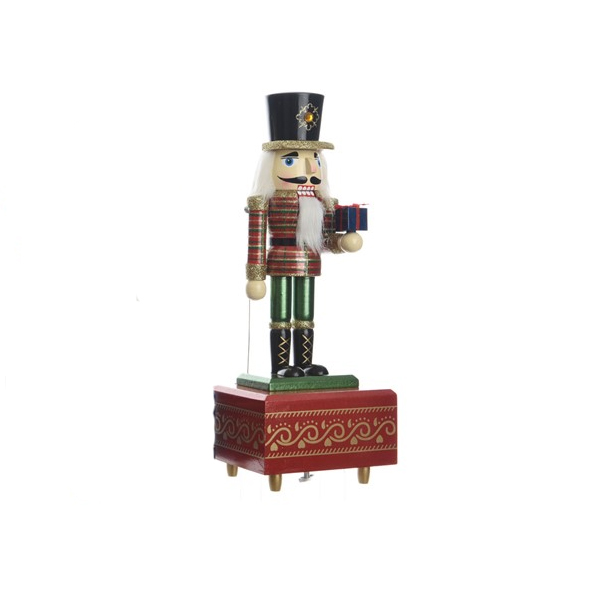 Firwood Music Box with Glitter - Red (550344R)