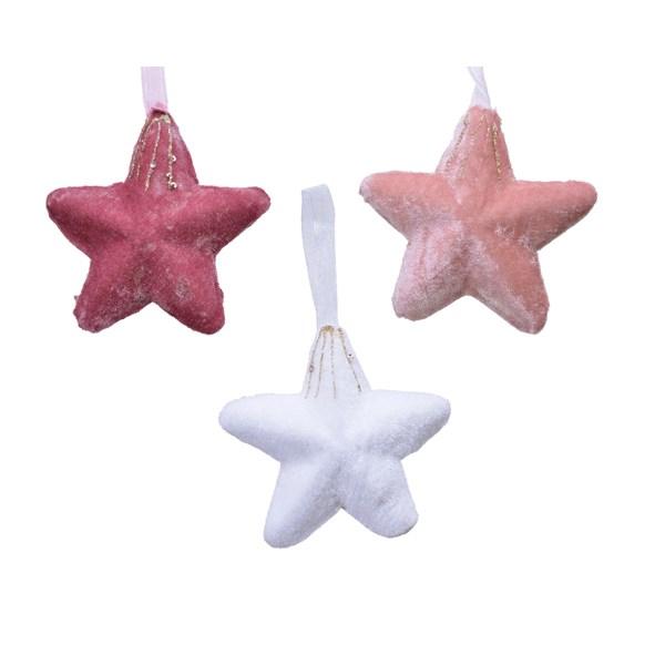Hanging Star - Velvet Pink (611728VP)