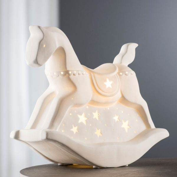Belleek Living Rocking Horse Luminaire (7927)
