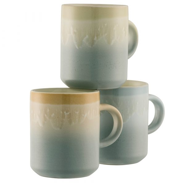 Belleek Living Fika Three Mug Set (9440)
