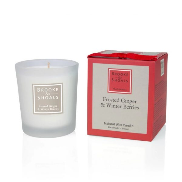 Scented Candle - Frosted Ginger and Winter Berries