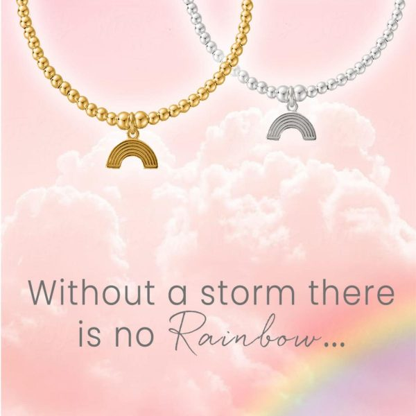 Cute Charm Rainbow Bracelet Gold (GBCC3070)