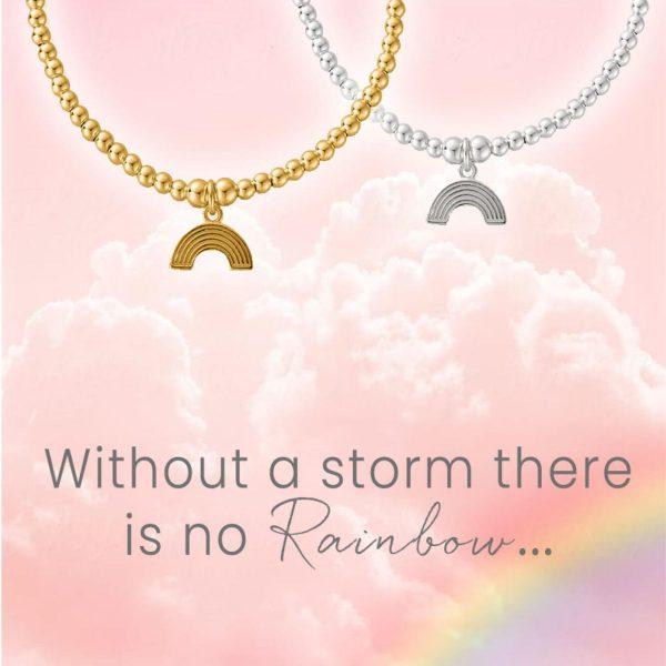 Cute Charm Rainbow Bracelet (SBCC3069)