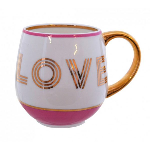 Small Talk Mug Lipstick Pink Love (VIA133)
