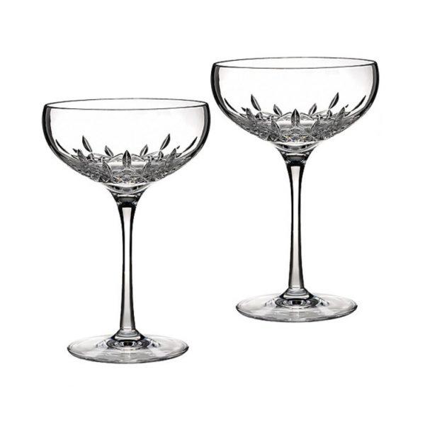 Lismore Essence Saucer Champagne Pair 18cm (024258422001)