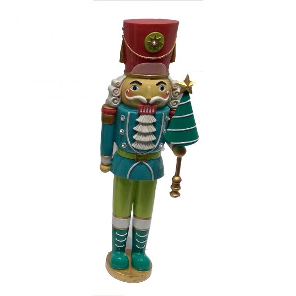 Luxury Christmas Nutcracker - Sage Green (201505SG)