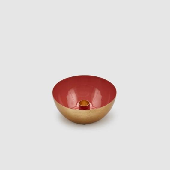 Charm Enamel Bowl/Candle Holder - Large (601602,32)