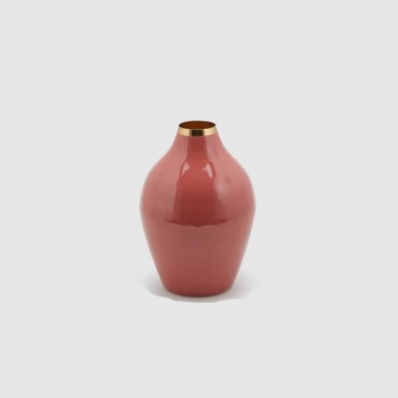 Charm Amphora Enamel Vase - Tall (601607,32)