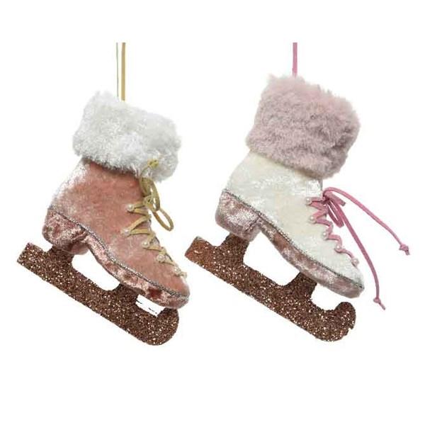 Hanging Ice Skate - Pearl (610497PL)