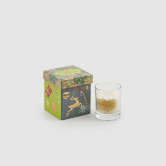 Candle in Glass Jar with Music Box (613149,71)