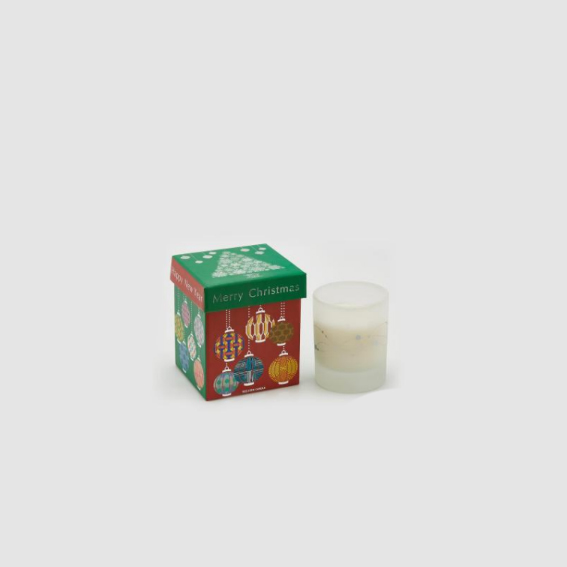 Candle in Glass Jar with Music Box (613149,74)