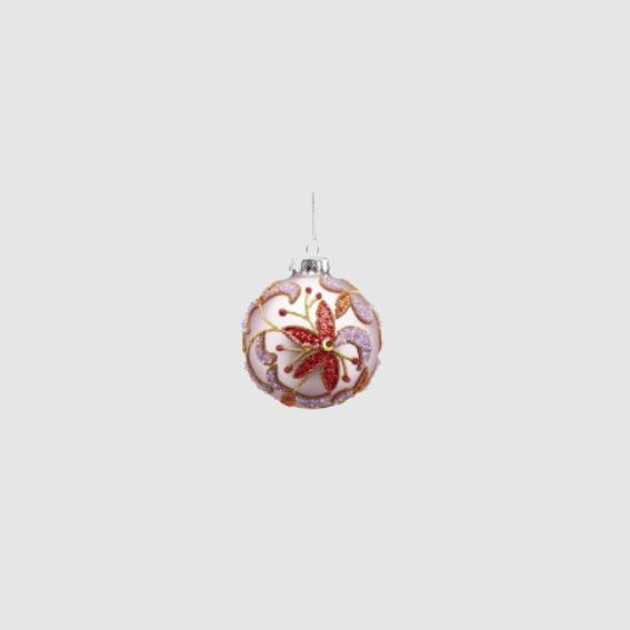 Glass Ball Decoration - Lilac (682860,63)