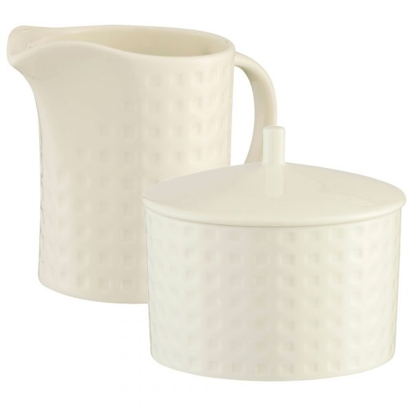 Belleek Living Grafton Sugar and Cream Set (7633)