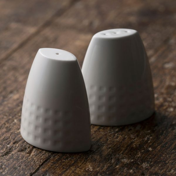 Belleek Living Grafton Salt and Pepper (7639)
