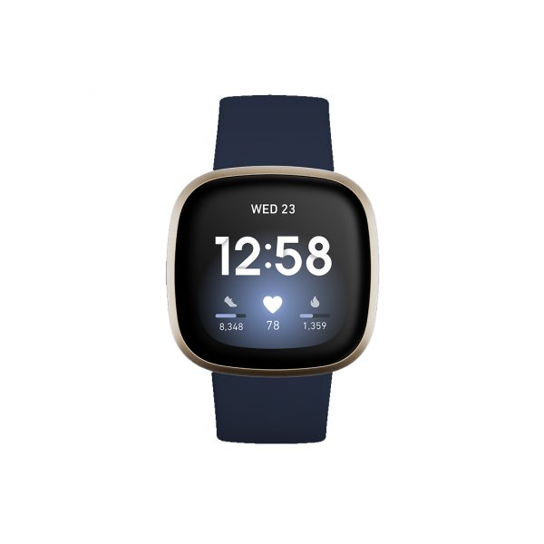 FitBit Versa 3 Midnight/Soft Gold (79-FB511GLNV)