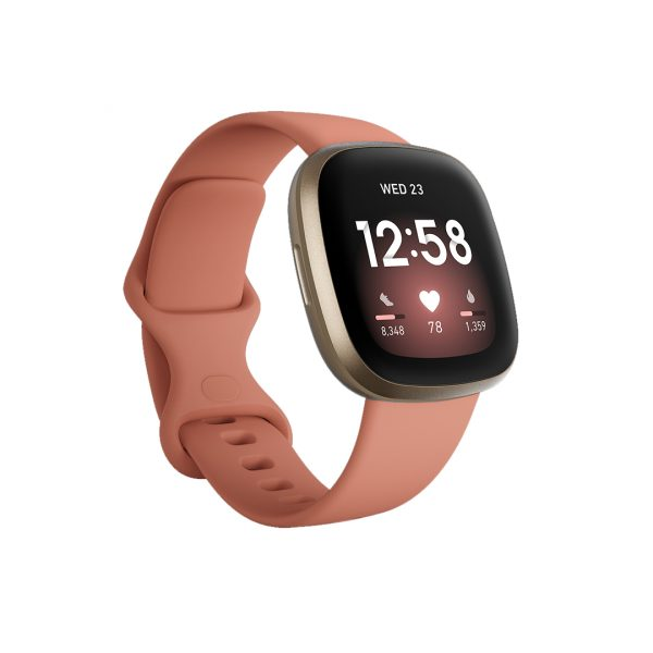 FitBit Versa 3 Pink Clay/Soft Gold (79-FB511GLPK)