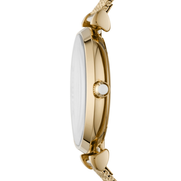 Gianni T-Bar Gold Tone Stainless Steel Ladies Watch (AR11321)