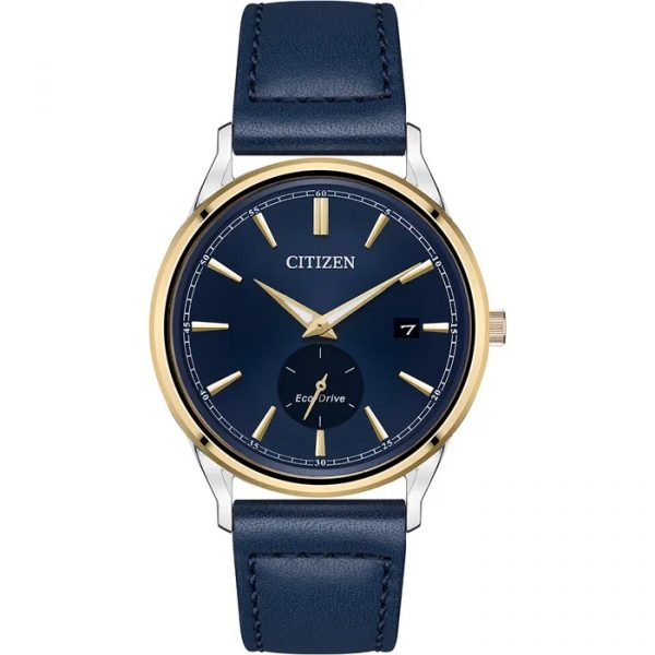 Men's Eco-Drive Blue Leather (BV1114-18L)