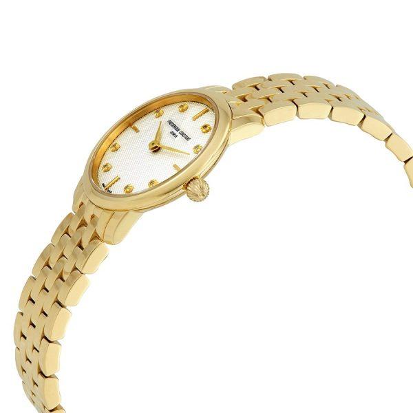 Ladies Slimline Stainless Steel Quartz Watch (FC-200STDS5B)