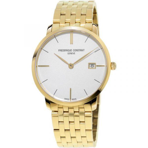 Slimline Gents Gold-Tone Watch (FC-220V5S5B)