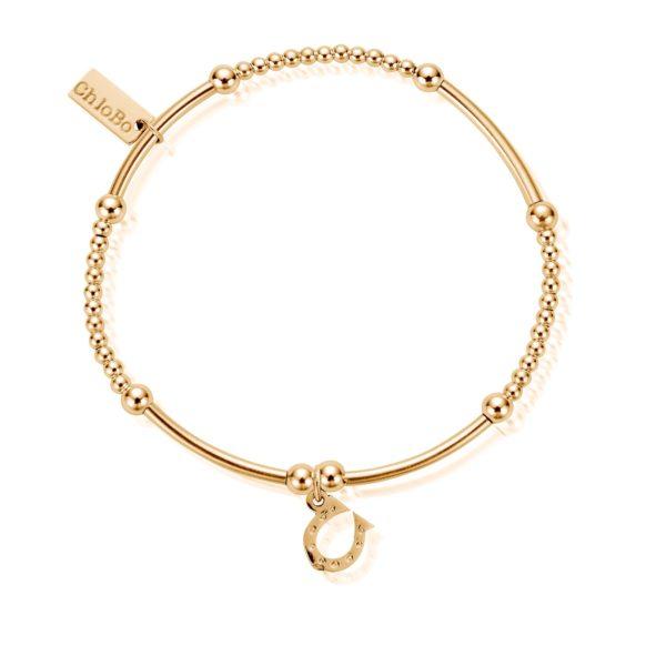 Cute Mini Horseshoe Bracelet - Gold (GBCM423)