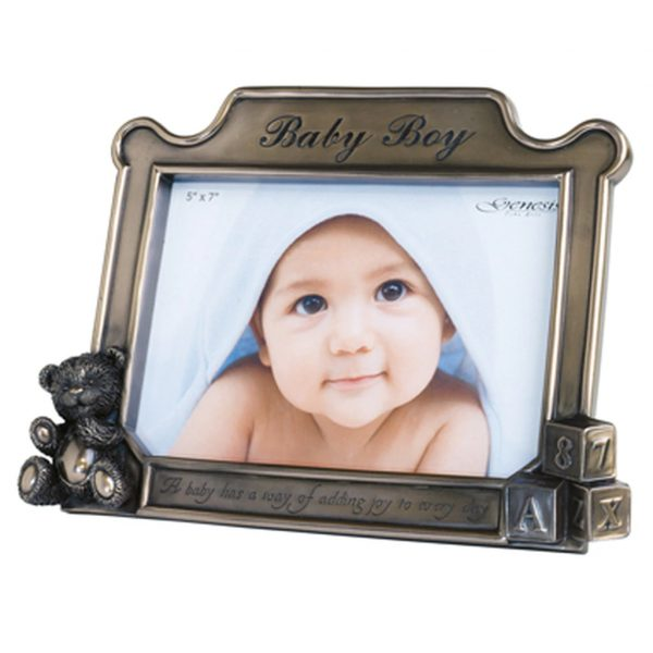 """Baby Boy Frame - 5 x 7"""" (JJ059)"""