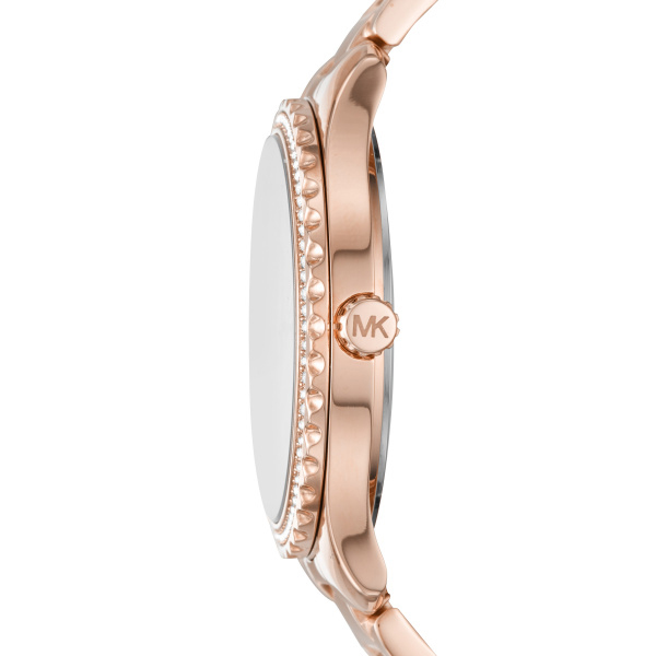 Layton Rose Gold Ladies Watch (MK6848)