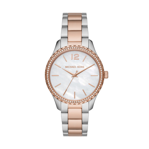 Layton Two-Tone Stainless Steel Ladies Watch (MK6849)