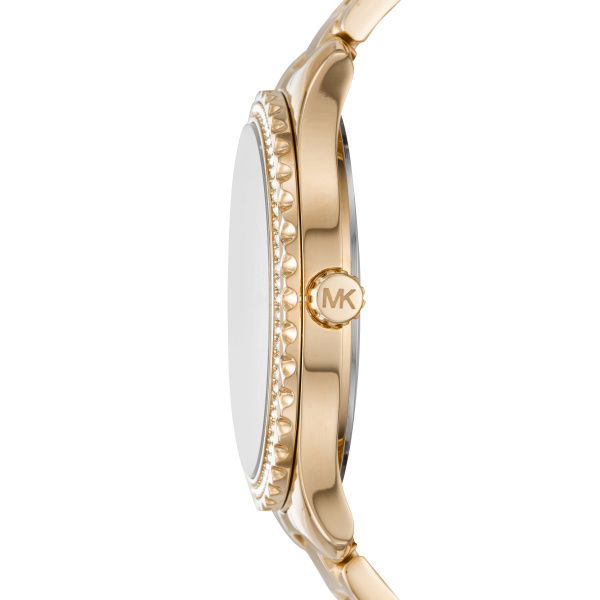 Layton Gold-Tone Stainless Steel Ladies Watch (MK6870)
