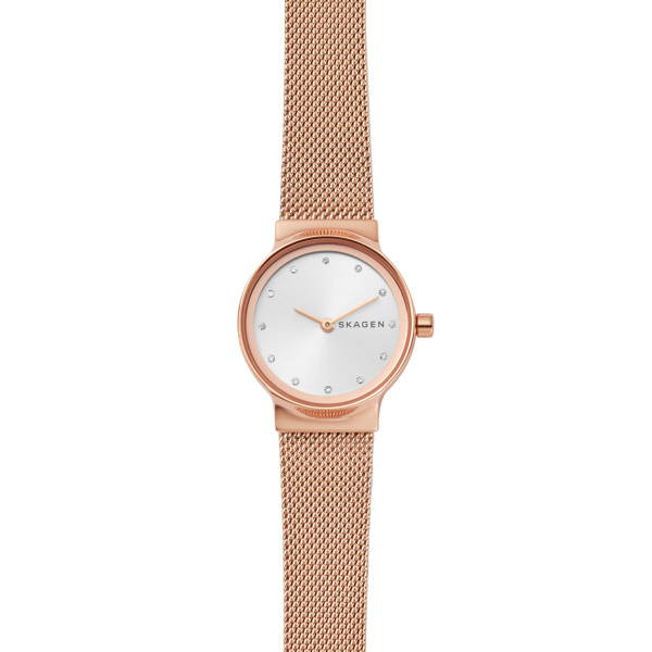 Freja Rose-Gold Tone Steel-Mesh Watch (SKW2665)