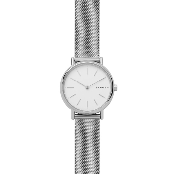Signatur Stainless Steel Mesh Watch (SKW2692)