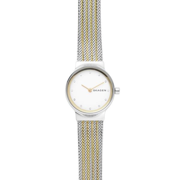 Freja Two-Tone Steel-Mesh Watch (SKW2698)