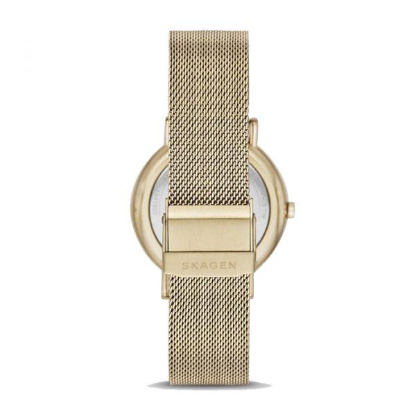 Signatur Gold-Tone Steel-Mesh Watch - 38mm (SKW2795)