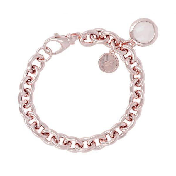 Gemstone Charms Bracelet (WSBZ00027.R)