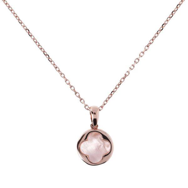 Four Leaf Clover Charm Necklace (WSBZ00916.PM)