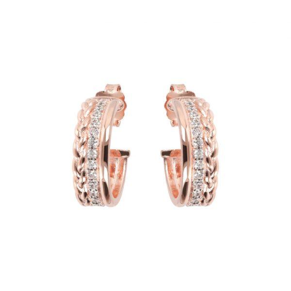Elegant Returns Hoop Earrings (WSBZ01144.WR)