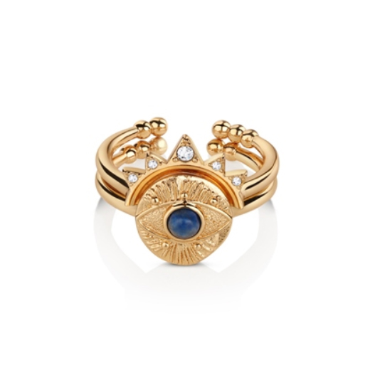 All Seeing Evil Eye Stacking Rings (R2501)