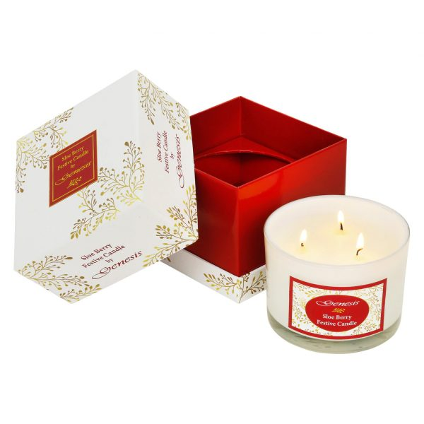 Sloe Berry Festive Candle (SS009)