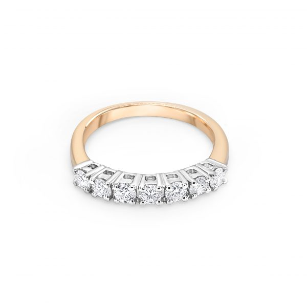 9ct Yellow Gold Diamond Eternity Ring