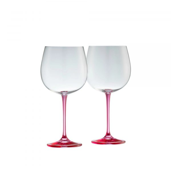 Galway Crystal Gin and Tonic Pair - Pink (G600132)